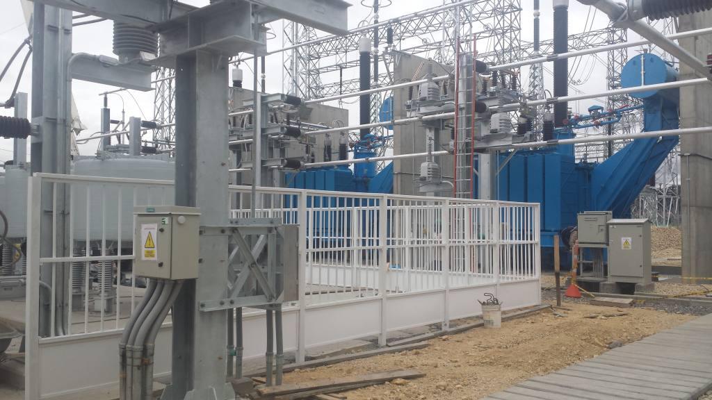 Cerramiento plastico para subestaciones electricas - Cerramientos plasticos ...