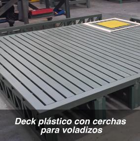 Pin pergola con rejilla metalica on pinterest for Pisos plasticos para exteriores